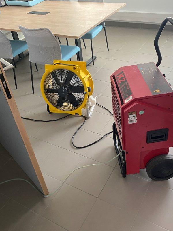 assécheur et ventilateur